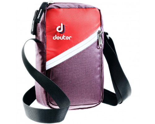 Сумка на плечо Deuter Escape I Aubergine/Coral
