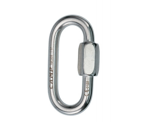Карабин OVAL QUICK LINK 8 mm inox Camp